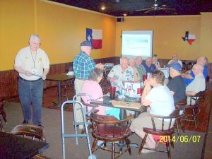 Participation at 07 June 2014 Chapter 41 meeting