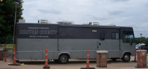 Denton County Communications Vehicle at Ham-Com 2014