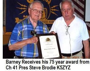 75 Year Award