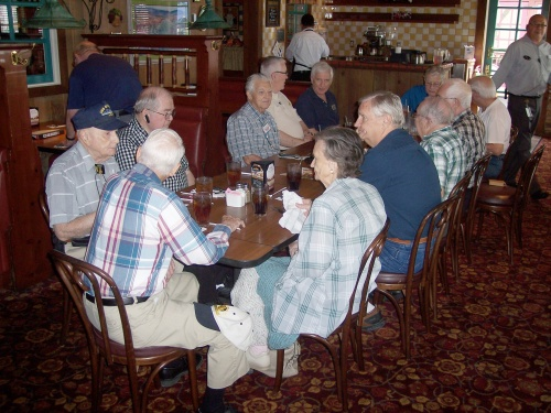 There appeared to be no shortage of things to talk about. Of course, amateur radio operators enjoy talking.