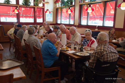 QCWA Chapter 41 at Spring Creek Barbecue in Addison, Texas